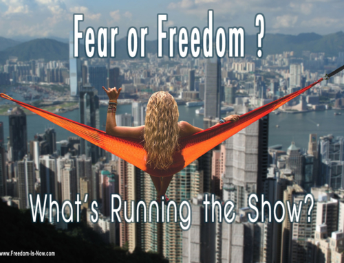Freedom OR Fear